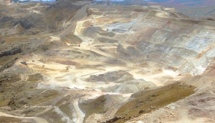 Золотой рудник Янакоча в Перу